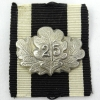 25 Year Jubilee Spange to the 1870 Iron Cross 2nd Class