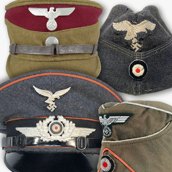 German Caps & Visors