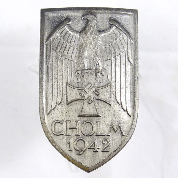 Rare Cholm 1942 Campaign Shield
