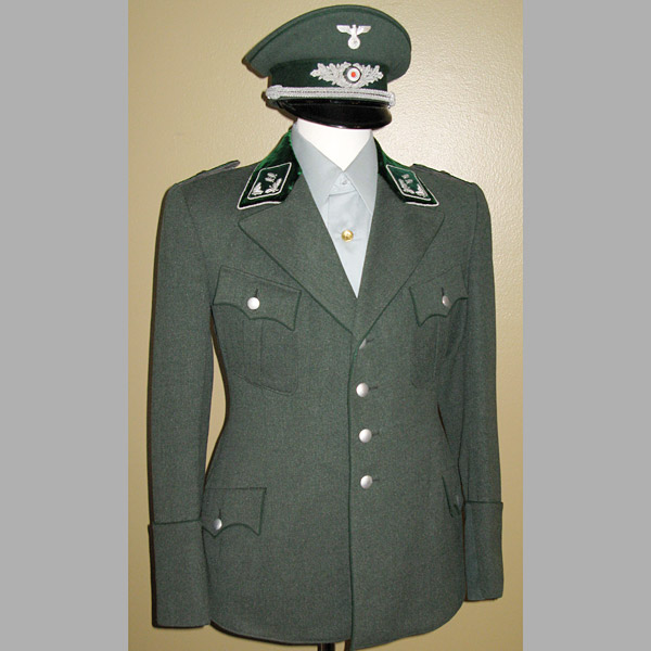 State Forestry Officer Tunic and Visor Cap