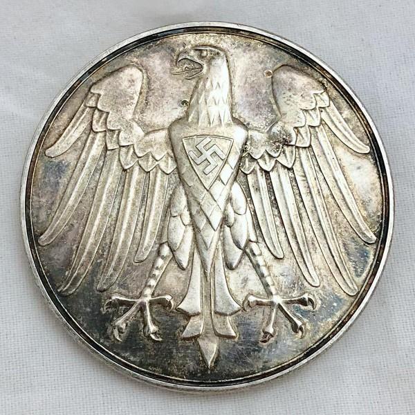 "Life Saving Table Medal (""Für Rettung Aus Gefahr"")"