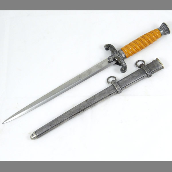 Heer German Army Dagger from WKC Solingen with Tomahawk Style Guard