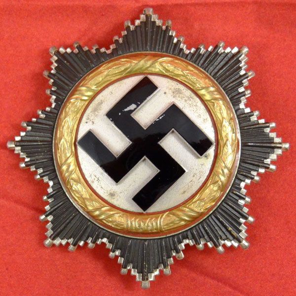 German Cross in Gold — C. F. Zimmerman 20