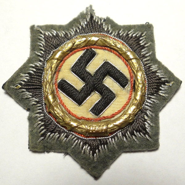 German Cross in Gold — Cloth for Heer (Army)