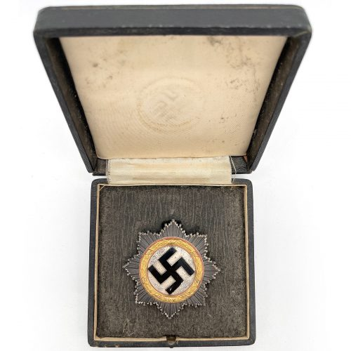 """German Cross in Gold by Zimmermann (""""dotted"""" version)"""