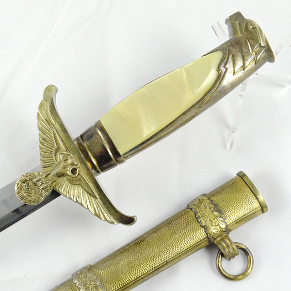 Gold Government Official's Dagger (Eastern People's RMBO) by Carl Eickhorn