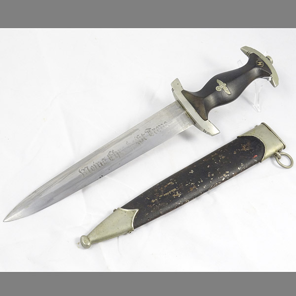 Ground Rohm SS Dagger by E.P.&S. Solingen