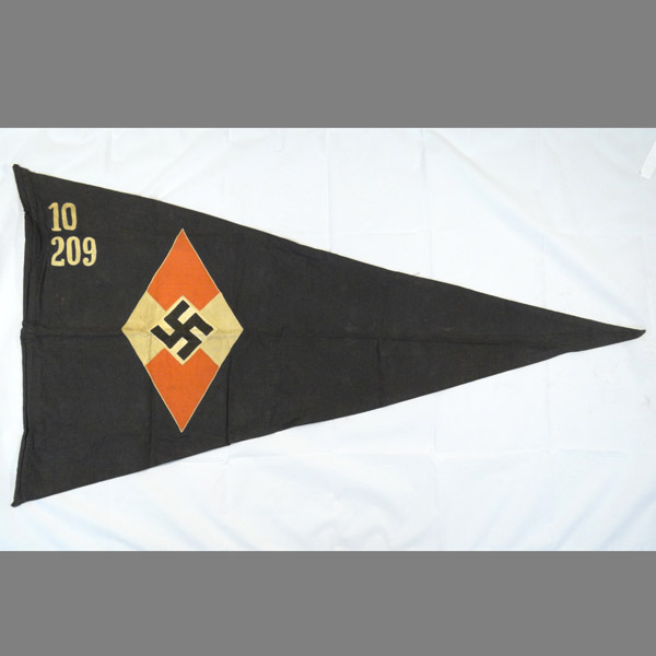 Hitler Youth Girls BDM Pennant