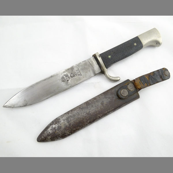 Transitional Hitler Youth Knife Wkc M7 42 1936
