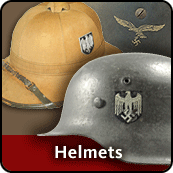 WW2 German Helmets & Headgear