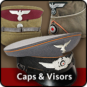 WW2 German Caps & Visors