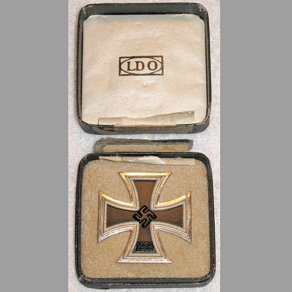 Cased Iron Cross First Class – Funcke & Brüninghaus (L/56)