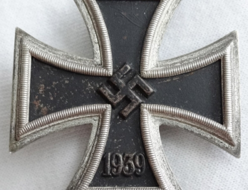 "1939 Iron Cross First Class by C.F. Zimmermann ""L/52, 20″"