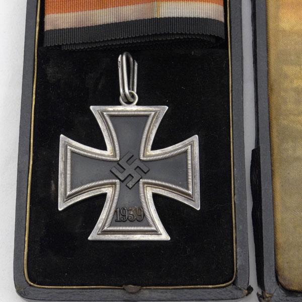 German WW2  '800' SILVER loop for Juncker Type 1 Knight S Cross of Iron Cross