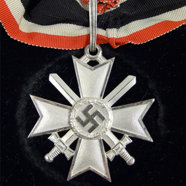Knight's Cross of the War Merit Cross with Case by Deschler