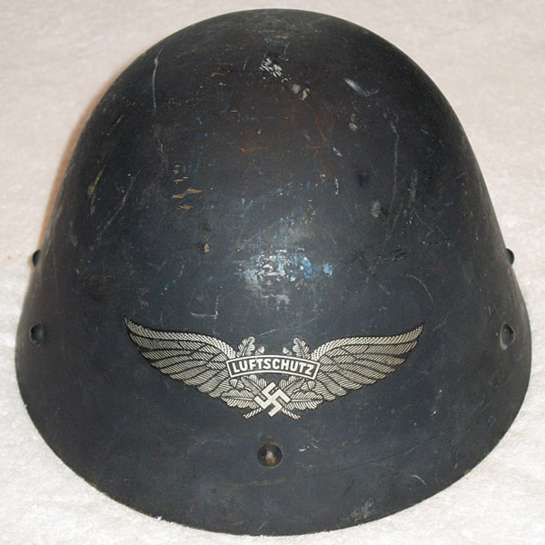 Luftschutz Czech Capture Helmet Ibuyworldwar2 Com