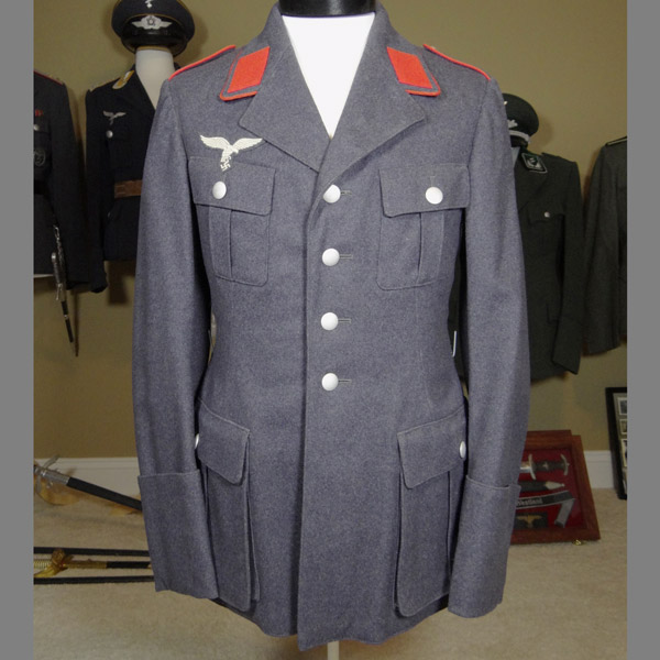 Luftwaffe Flak Tunic with 11th Regiment Straps