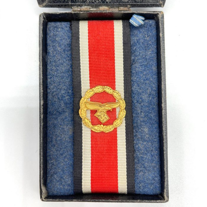 Luftwaffe Honor Roll Clasp with Original Issue Case
