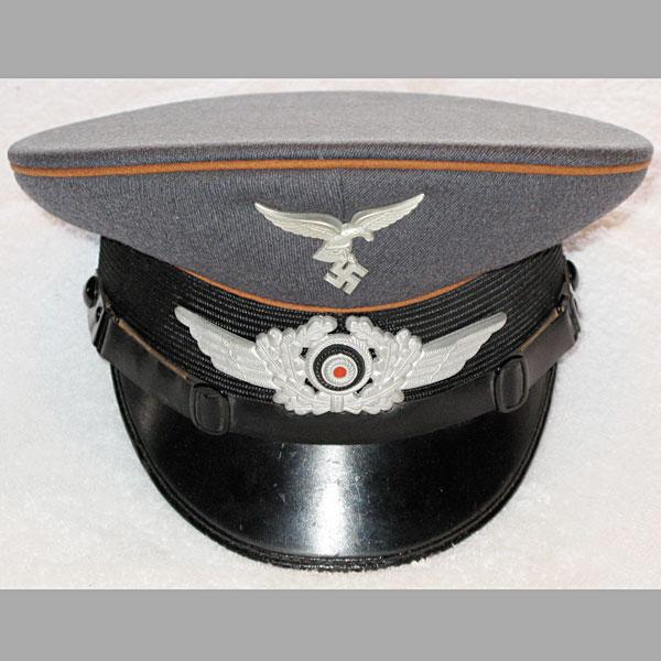 Luftwaffe Signals NCO Visor Cap