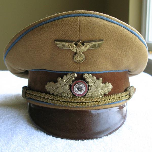 NSDAP Ortsgruppe Political Leader's Visor Cap