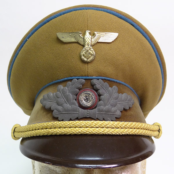 NSDAP Visor Cap for Ortsgruppe Political Leader