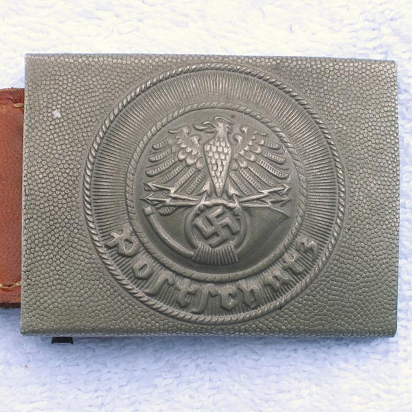Postschutz Postal Defense Belt Buckle — Unissued
