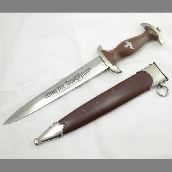SA Dagger — 1938 Transitional Robert Klaas RZM M7/37