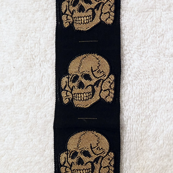 SS EM/NCO Tropical Cap Skull – Uncut Strip of 6
