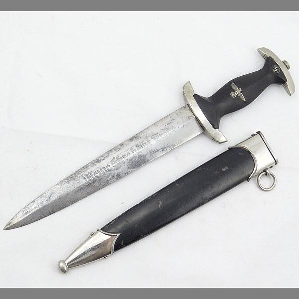 SS Dagger — Eickhorn Transitional RZM 941/38 SS