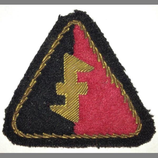 NSB Dutch SS Officer's Patch
