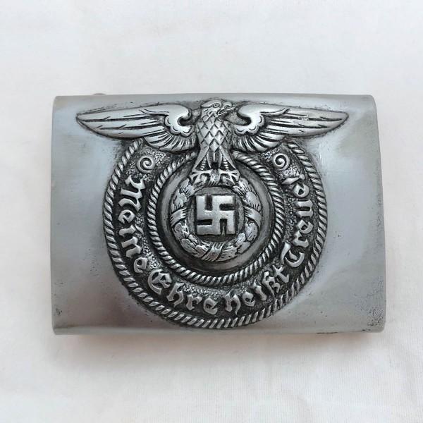Steel Waffen SS EM/NCO Belt Buckle (unmarked)