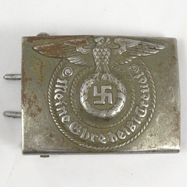 Waffen-SS EM Belt Buckle by RODO (rare maker)